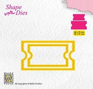 Nellie Snellen -Shape dies -Ticket 2