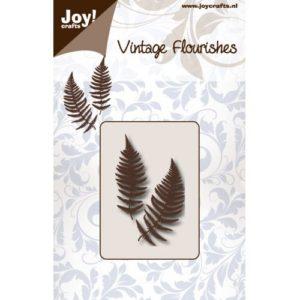 Joy! - Vintage flourishes - Fern