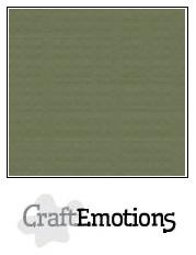 Cardstock - Linen - Army Green