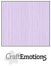 Cardstock - Linen - Sh Lavender Pastell