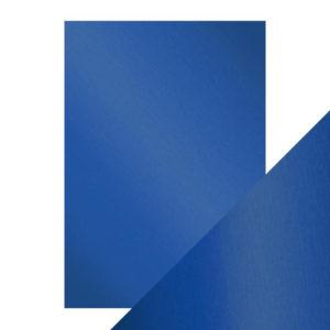 Craft Perfect - Spegelkartong - Cobalt Velour