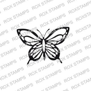 Stämpel - liten fjäril