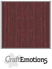 Cardstock - Linen - Mahogny Brown
