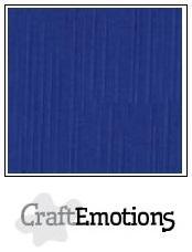 Cardstock - Linen - Sapphire blue
