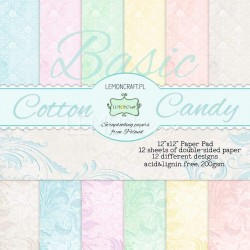 "Papperspack 12 x 12"" Basic candy"