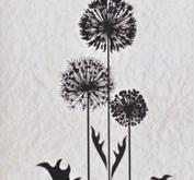 Nellie - Snellen - clear stamp Condolense flowers 006