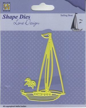 Nellie Snellen - Shape dies -Sailing boat