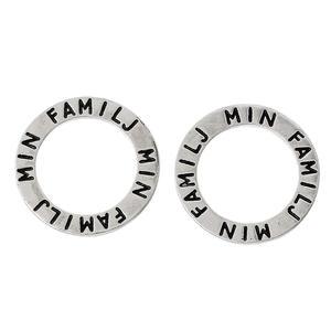 """1 st budskapsring """"Min familj"""""""