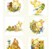 Marianne Design - Klippark - Easter bunnies
