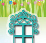 "Embossing folder - Joy! Deco Window"" 6002/1080"