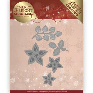 Precious Marieke - Die - Christmas florals