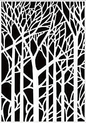 Nellie Snellen - Embossing folder - Trees