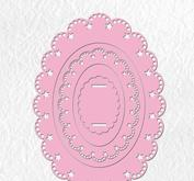 Nellie Snellen  - Multi frame die - Oval 4