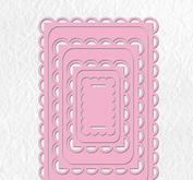 Nellie Snellen  - Multi frame die - Rektangel