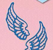 Nellie Snellen  - Shape dies blue - Wings