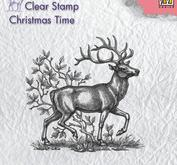 Nellie Snellen - Clearstamp  -Christmas time - reindeer
