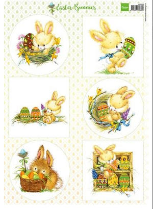 Marianne Designg - Klippark - Easter Bunnies