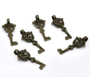 2 st gammeldags nyckel
