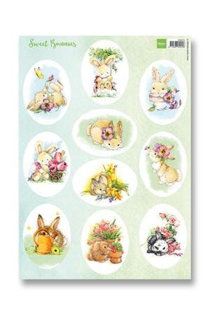 Marianne Design - Klippark-Sweet Bunnies