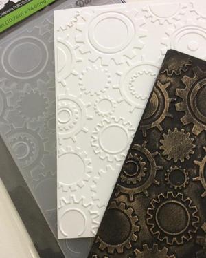 9. Inspiration embossing folders.
