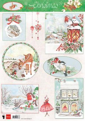 Marianne Design - Klippark-Christmas cozy ewk1270