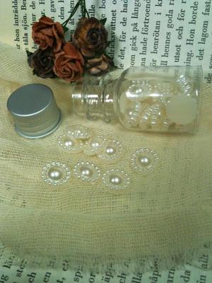 ca 30 st pärlblommor