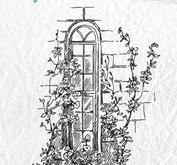 Nellie Snellen -CLEAR STAMP - IDYLLI FLORAL SCENES -  WINDOW