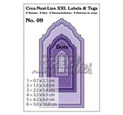 Crea-Nest-Lies XXL - Labels and Tags 09