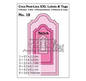 Crea-Nest-Lies XXL - Labels and Tags 12