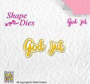Nellie Snellen - Shape die - God jul (S)