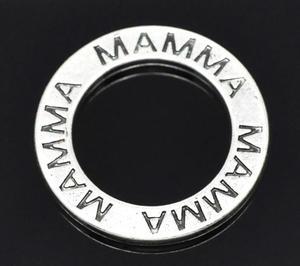 """1 st budskapsring """"Mamma"""" -Silver"""