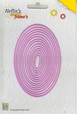 Nellie Snellen - Multi dies - Ovals