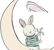Nellie Snellen - Moon - Stämpel + Dies