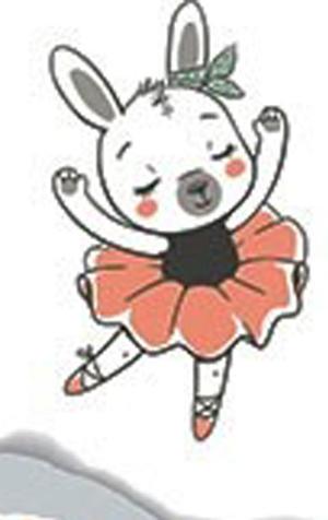 Nellie Snellen -Ballerina - Stämpel + Dies