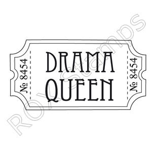 Biljett - Drama queen