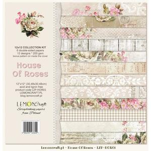 "Lemoncraft - House of roses - 12x12"" paper pack"