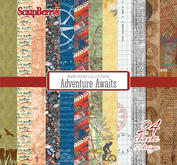 Scrapberrys - Adventure Awaits  stack 6x6""