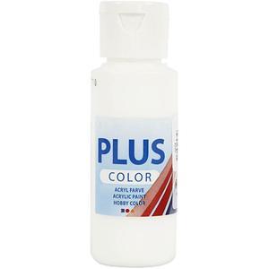 Plus Color hobbyfärg, vit