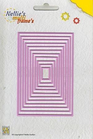 Nellie Snellen - Multi dies - Straight rektangle