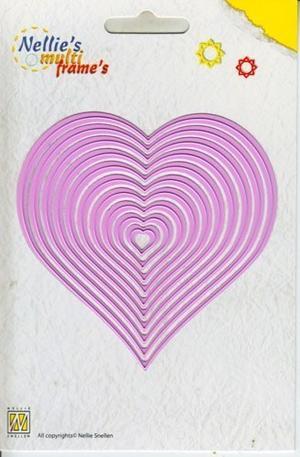 Nellie Snellen - Multi dies - Heart