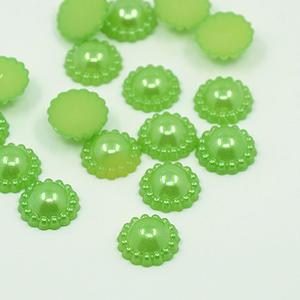 30 st pärlblommor - grön