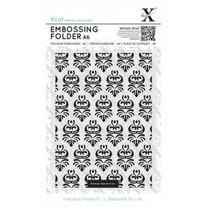 Embossing folder - damask pattern - xcut