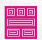 Nellie Snellen - Multiframe - block die square