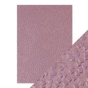 Tonic Studios - Embossed paper -falling glitter
