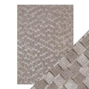 Tonic Studios - Embossed paper -pewter slates