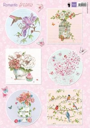 Marianne Design Klippark - Romantic dreams - Pink