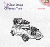 Nellie Snellen Christmas Time  -Christmas tree transport