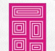 Nellie Snellen - Multiframe - block die squareblock die rectangle