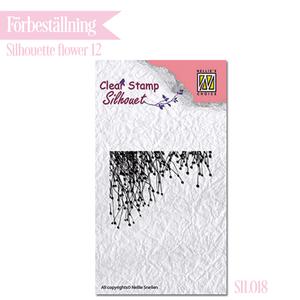Nellie - Snellen - clear stamp Silhouette - 018