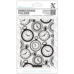 Xcut embossing folder- pocket watch